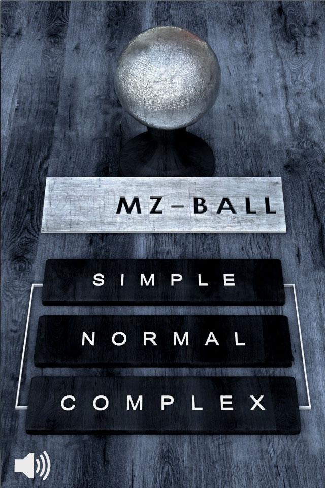 Screenshot MZ BALL HD 3D