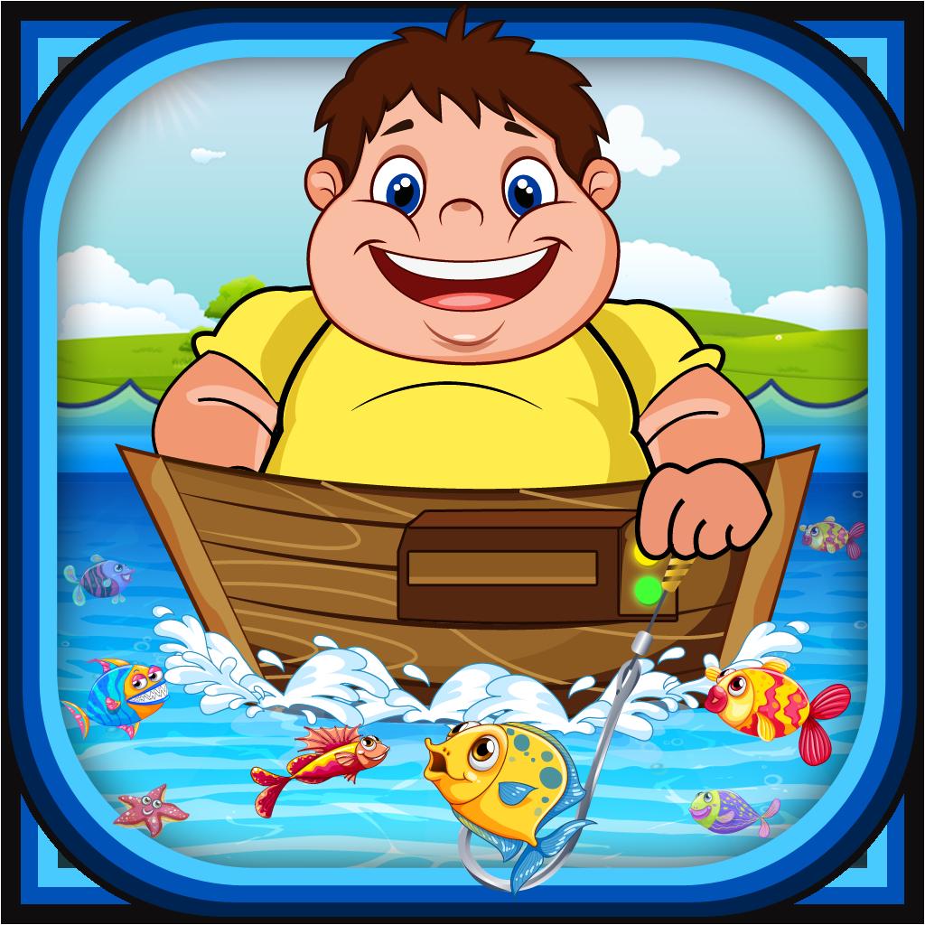 Веселое приключение дряблого рыбака PRO- Виртуальная игра рыбалки пальцем